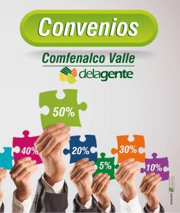 Guía de CONVENIOS - Comfenalco Valle