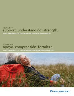 support. understanding. strength. apoyo. comprensión. fortaleza.