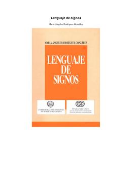 Lenguaje de signos - Lengua de Signos Española