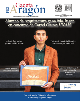Titulados en agosto - FES Aragón