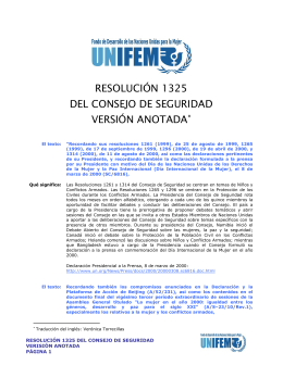 SPANISH_Security Council Resolution Annotated_1325