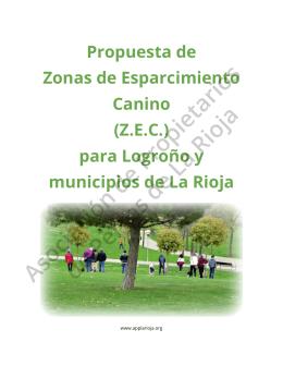 dossier pdf - Asociación de Propietarios de Perros de La Rioja