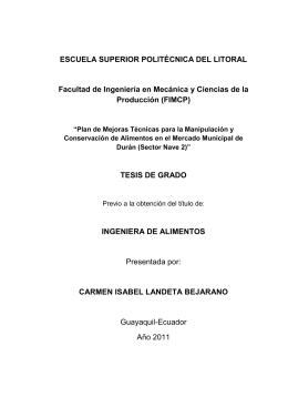 TESIS DE GRA - Cib - Escuela Superior Politécnica del Litoral
