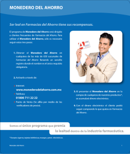 MONEDERO DEL AHORRO - Amazon Web Services