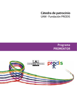 Programa PROMENTOR - Fundación Universia
