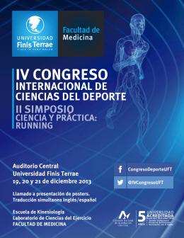 IV CONGRESO INTERNACIONAL DE