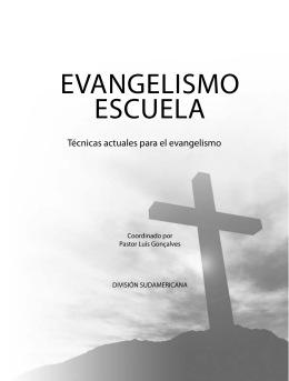 EVANGELISMO ESCUELA