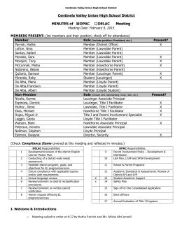 DPAC Minutes EngSpan (Feb9 2015)