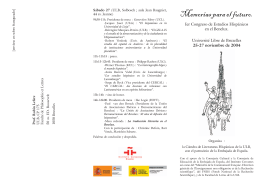 folleto del Congreso, en PDF - Université Libre de Bruxelles