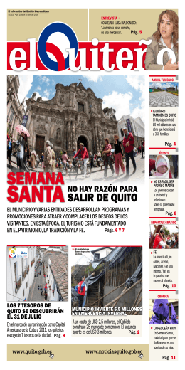 3 - Agencia Pública de Noticias de Quito