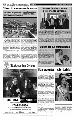 Illinois Office of Tourism Illinois te refresca en este verano La Prensa