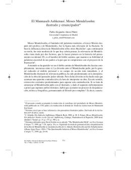 ilustrado y emancipador - Revistas Científicas Complutenses