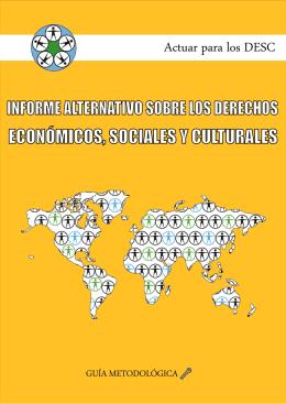 Informe alternativo sobre los derechos económicos, sociales y