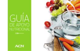 Descarga la Guía de Apoyo Nutricional para comenzar el