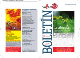 La alergia - Iglesia SALEM