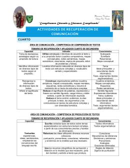 Comunicación - Colegio San Vicente