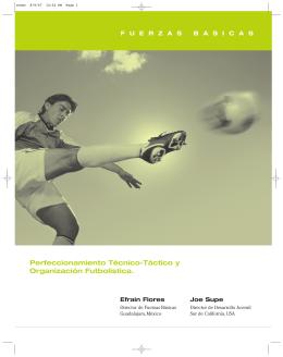 Perfeccionamiento Técnico-Táctico y Organización Futbolística.