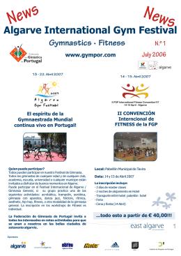 N s ew News - Federação de Ginástica de Portugal
