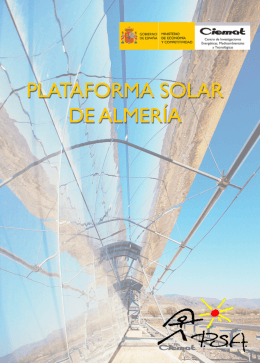 Introduction and Background - Plataforma Solar de Almería