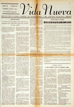83. Vida Nueva, 83 - Institución Fernando el Católico