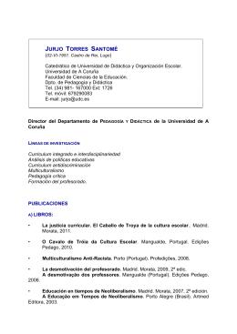 Currículum ampliado PDF