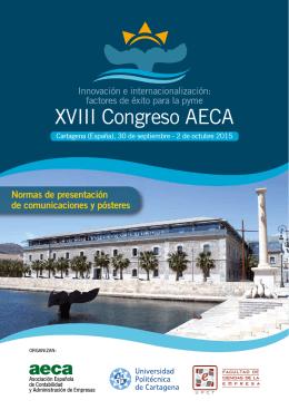 XVIII Congreso AECA