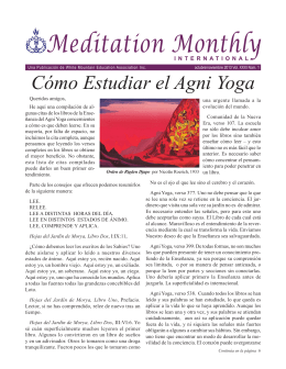 Meditation Monthly - White Mountain Education Association