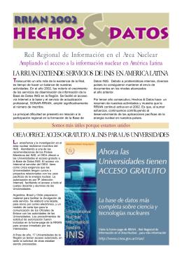 Hechos & Datos 2002