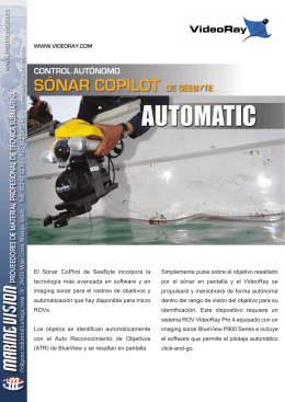 Folleto - Marine Vision SL