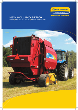 New HollaNd BR7000
