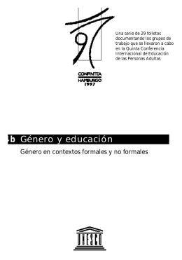 Género y educación 4b