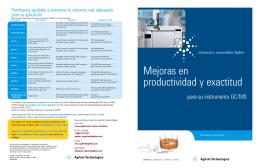Mejoras en productividad y exactitud