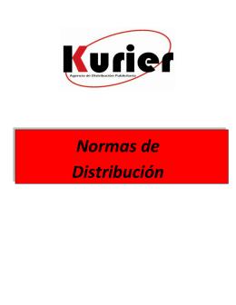Normas de Distribución