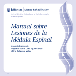RecTherapy Spanish V2.fm - The Regional Spinal Cord Injury