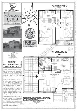 PEÑALARA - casas de madera la llave del hogar