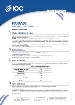 FT FLUDASE (ES) - Institut Oenologique de Champagne