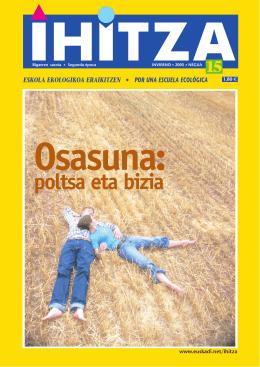 IHITZA 15 - Ingurumena