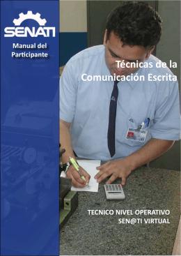Técnicas de la Comunicación Escrita