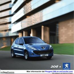 Catálogo del Peugeot 206