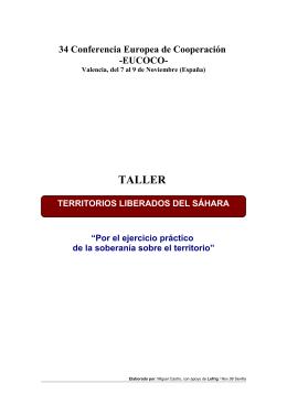 TERRITORIOS LIBERADOS - Cantabria por el Sáhara