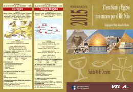 peregrinacion tierra santa 2015