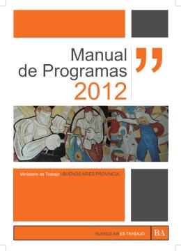 abril de 2012 - Ministerio de Trabajo de la Provincia de Buenos Aires