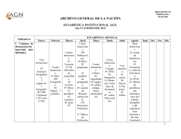 estadisticas institucionales agn 2do cuatrimestre 2015