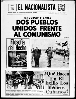 Abril-Mayo 1976 - Latin American Studies