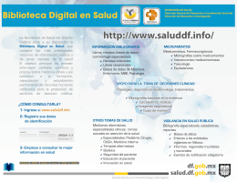 SSDF low - Biblioteca Digital en Salud