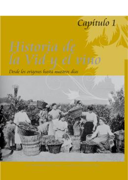 Capítulo I. Historia de la vid y el vino.