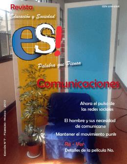 Comunicaciones - Revista Educación y Sociedad