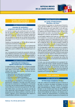3. Noticias Breves de la Unión Europea (439 kbytes)