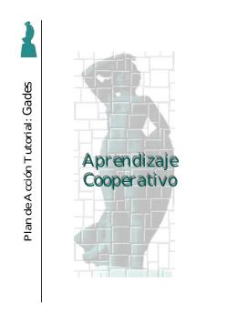 Aprendizaje cooperativo - Plan Acción Tutorial