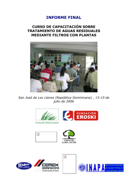 Informe detallado del curso